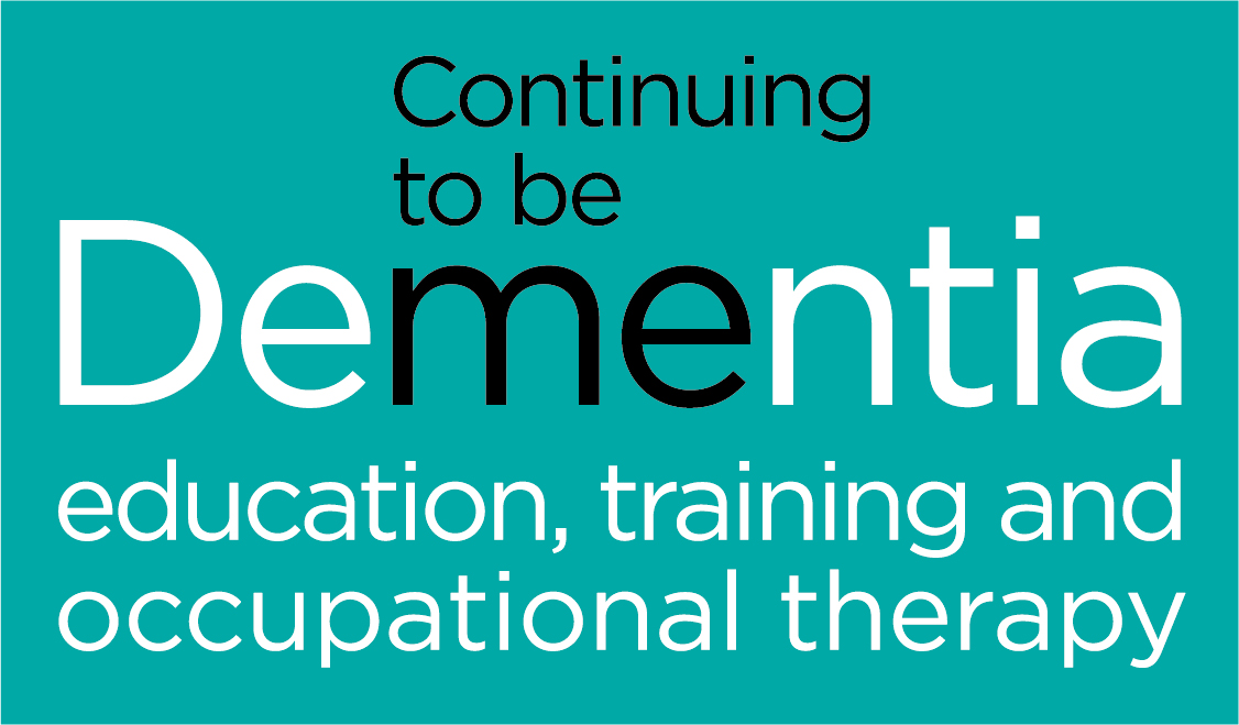 Continuing to be me: therapy, education and training
